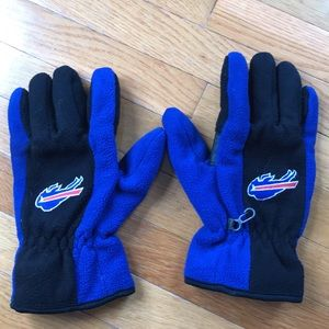 Men's Buffalo Bills fleece gloves